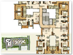 Even Typical Floor Plan Building 1 of VasaiOne